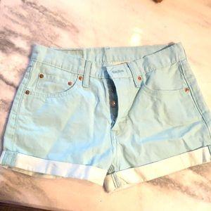 Women's Levi shorts
